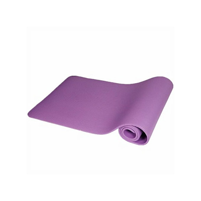 New Yoga Mat Thick Exercise Fitness Physio Pilates Gym Mats Non Slip Carrier
